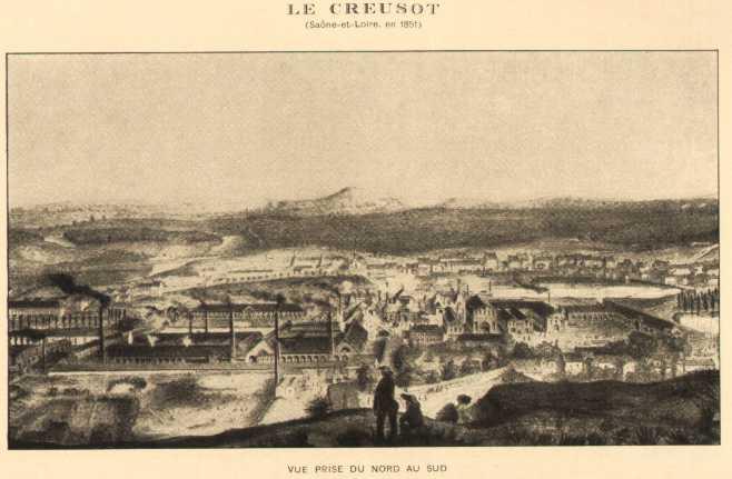 le creusot de 1253 à 1910 le creusot en 1851 page d accueil retour